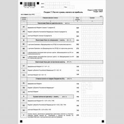 """Форма КНД 1151038 """"Налоговая декларация по налогу на прибыль иностранной организации"""". Стр. 13"""