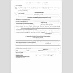"""Форма """"Заявление о добровольном вступлении в правоотношения по обязательному пенсионному страхованию"""". Стр. 3"""