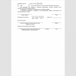 """Форма """"Заявление об оформлении патента"""". Стр. 3"""